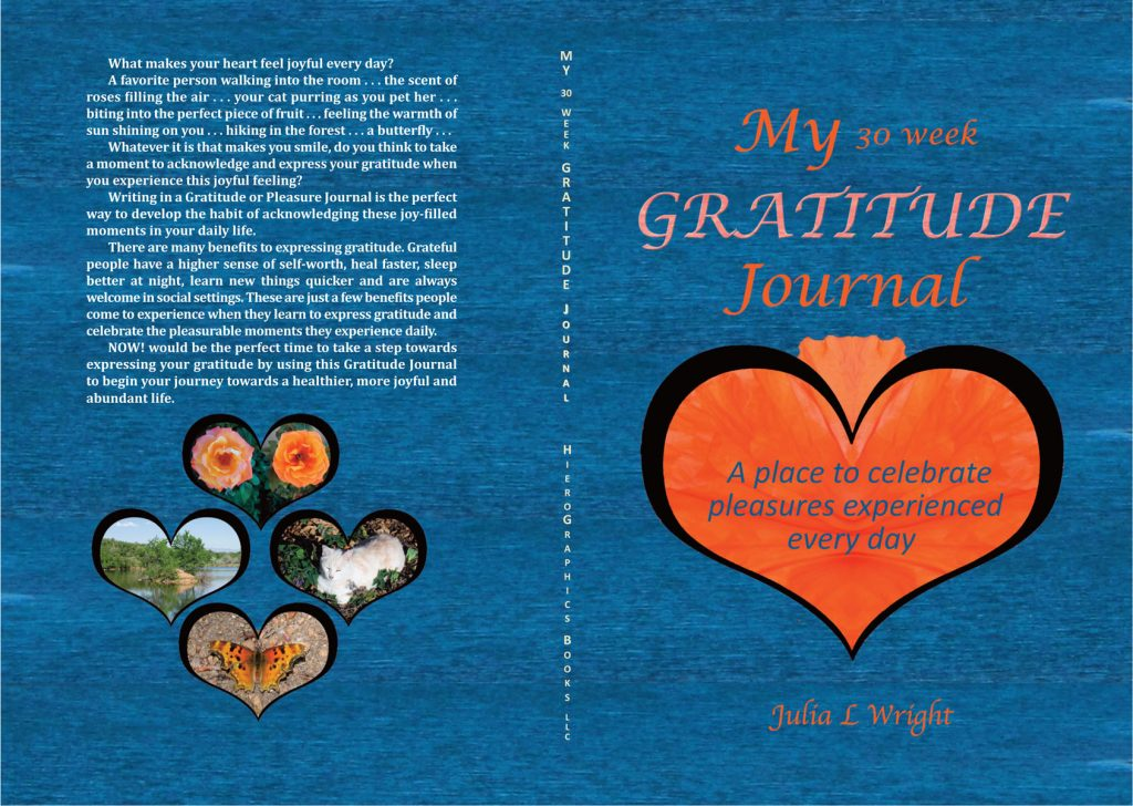 My 30 Week Gratitude Journal