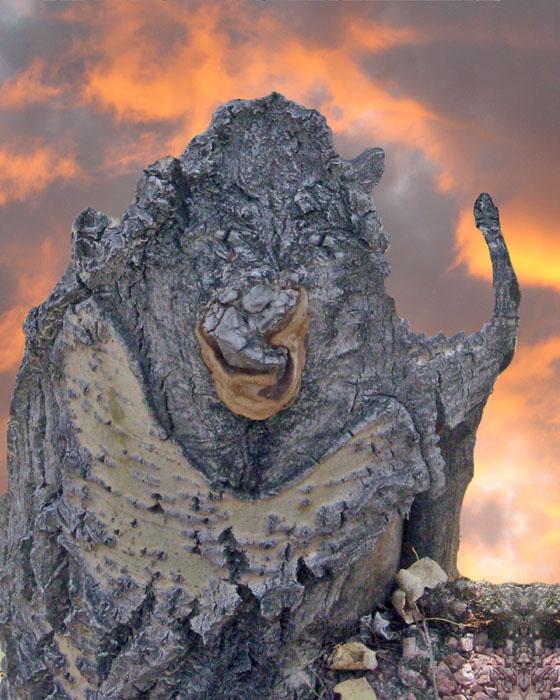 Aspen Ogre Fleeing A Fire