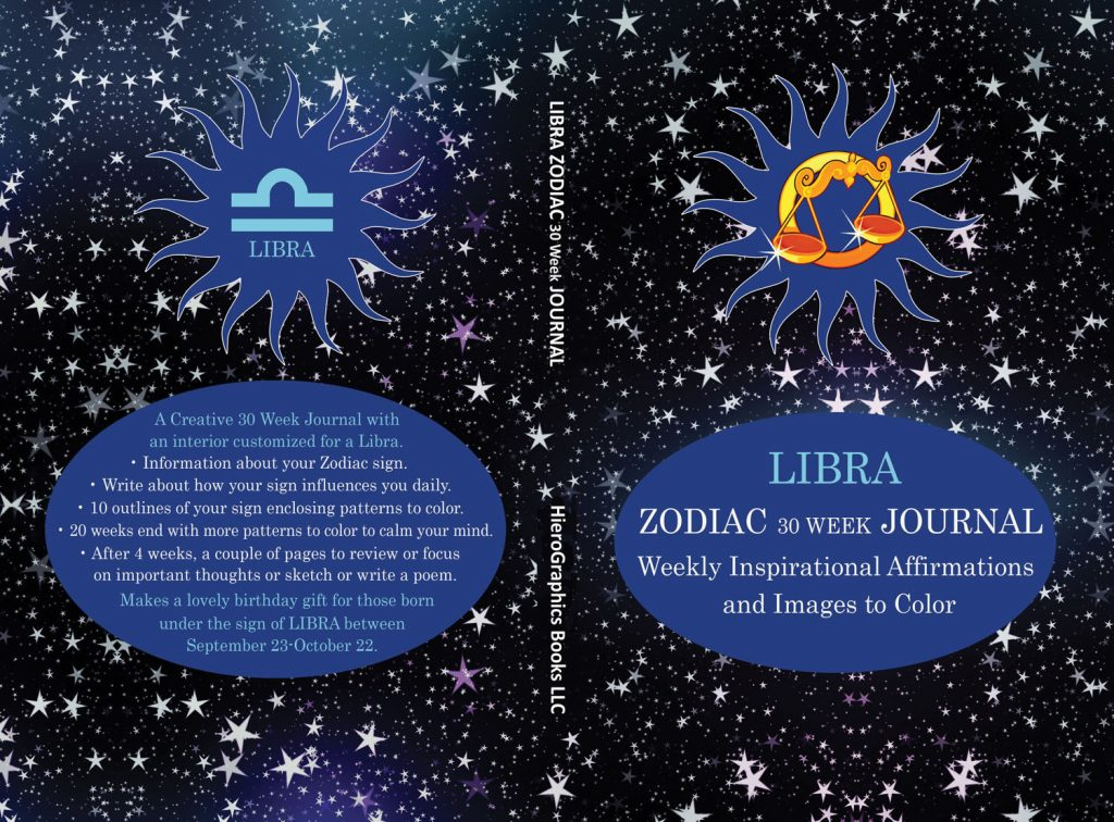 Libra Zodiac Journal