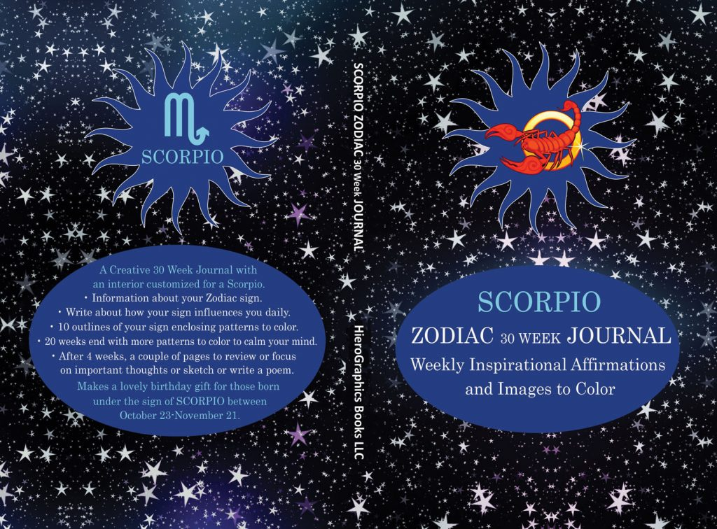 Scorpio Zodiac Journal